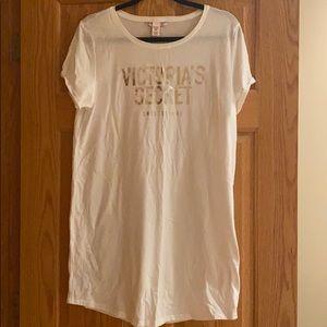 Victoria Secret White night shirt